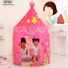 akitoo new arrival 100*80cm Child Tent Toy House Game Castle Small House Baby Yum Keen Kindergarten Indoor Toys