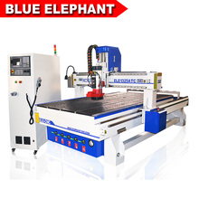 CNC Router Machine ATC 1300mm x 2500mm Bed, 9.0KW HSD Spindle, SYNTEC Control System, T-slot & Vacuum Table(China)