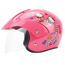 Kids baby Helmets safety half face children motorcycle electric bicycle cold-proof scarf muffler cartoon