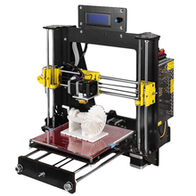 2018 Classic Aluminium Extrusion 3D Printer kit 3d printing PLA Materials 1.75 white As Gift(China)