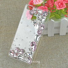 Colorful Rhinestone Shinny Diamond Telephone Back Cover for Huawei P9 Lite Case New Arrival Hard PC Shell Case for P9 Lite Capa