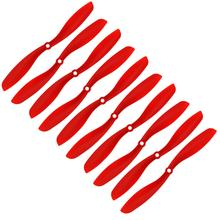 RC plane 5 Pair 8x4 8045 8045r Red Cw Ccw Propellers Multicopter Clockwise Rotating Parts Accs(China)