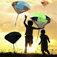 Mini Hand Throwing Parachute Kids Outdoor Toys Play Game with parents Children's Educational juguete brinquedo