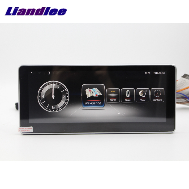 Liandlee Car Multimedia Player NAVI For Mercedes-Benz MB GLC Class X253 C253 2015~2018 Car Radio Stereo GPS Navigation 7