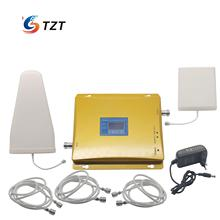 GSM 900MHz Mobile Signal Amplifier Repeater 4G LTE DCS1800 MHz Dual Band LCD Display(China)