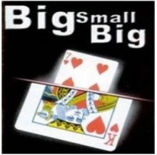 Big Small Big Magic Tricks Card Magica Close Up Illusions Gimmick Props Mentalism Comedy(China)