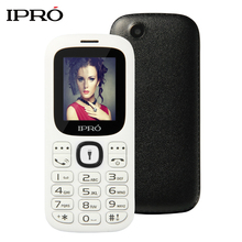 Original IPRO I3185 Dual SIM Unlocked Mobile Phones GSM SC6531DA 1.77 Inch Bluetooth Cell Phone With English Spainish Language