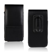 High Quality Leather Smooth Lichee Pattern Case Belt Clip Pouch Cover Case for Explay Phantom Drop Shipping(China)