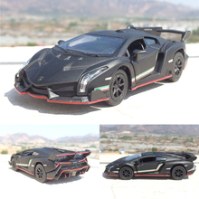 Free Shipping High Simulation Exquisite Diecasts & Toy Vehicles Car Styling Veneno Sports Car 1:36 Alloy Car Model Toy Car Gifts