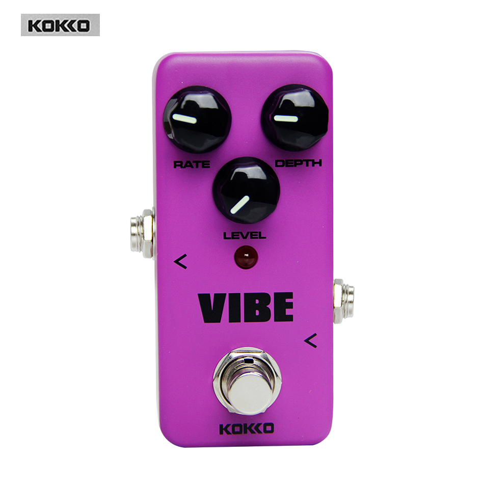 Guitar Parts &amp; Accessories KOKKO FUV2 Mini Pedal Vibe Analog Rotary Guitar Speaker Guitar pedal Guitar effect pedal<br><br>Aliexpress
