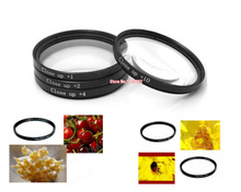 4 pcs 62mm 62mm Macro Close up +1 +2 +4 +10 SLR Lens Filter Kit Set For Can&n nik&n s&ny pentax &lympus Camera