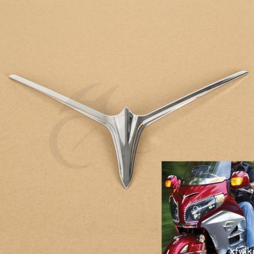 Fairing Scoop Eyebrow Accent Upper For 2012-2015 Honda Goldwing GL1800 Chrome<br>