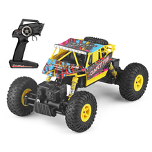 Wltoys WL Tech 18428C 2.4G 1:18 Scale 4WD Double Steering Gear Electric RTR Climber RC Car(China)