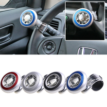 New Car Steering Wheel Knob Ball Hand Power Handle Grip Spinner Silver Strengthener Auto Spinner Knob Auxiliary Booster QP201