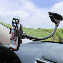 Car Windshield Holder 360 Rotating Mobile Phone Stand for Samsung S7 S6 Edge for Iphone 7 6s Plus HTC Universal Bracket Support