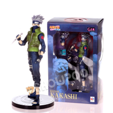 Naruto Cosplay Konoha Sixth Hokage Kakashi Hatake 22cm/8.7'' Boxed GK Garage Kit Action Figures Toys Model