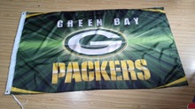 Green Bay Packers Flag 3ft x 5ft Polyester NFL Banner Flying Custom flag 90x150cm free shipping 063(China)