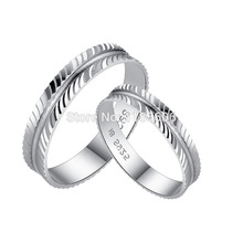 925 sterling silver couple ring jewelry womens ring Love life couple ring can be engraved mans pinky(China)