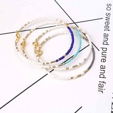 Buy 1pc 4 Colors Natural Stone Bracelet Elastic bangle Chip Beads Bracelet Bohemian Boho Women Friendship Bracelets Jewelry for $1.19 in AliExpress store