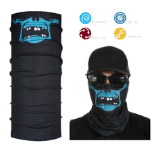 Headwear Scarf Skull Bandana Mask Neck Tube Sun UV Protection