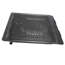 High Qualtiy USB Notebook Cooler Cooling laptop cooler Pad 1 Big Fans for Laptop PC Base Computer Cooling Pad Strengthen(China)