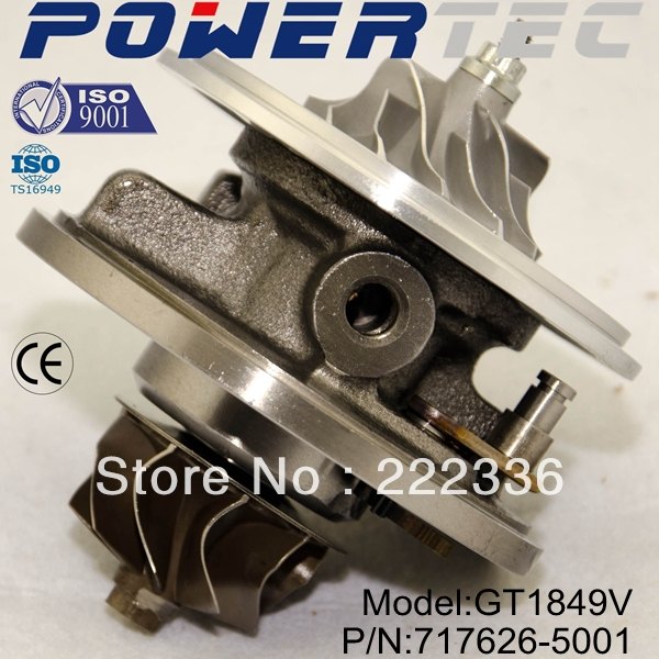 GT1849V 717626-5001S 717626 Turbine turbo Turbocharger turbo cartridge For OPEL Vectra C<br><br>Aliexpress