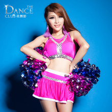 New Cheering Football/Basketball Baby Clothes Chinese Folk Dance Performing Aerobics Leotard Vest Skirt Active Sportswear(China)