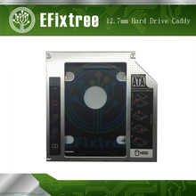 New 12.7mm 2nd SATA To SATA Hard Drive HDD SSD Caddy Adapter For iMac 27 Late 2009