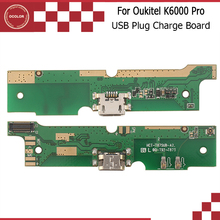 ocolor For Oukitel K6000 Pro USB Board USB plug Charge Board With Flex Cable PCB For Oukitel K6000 Pro Phone Free Shipping(China)