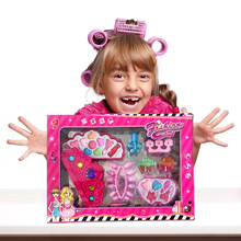 Children Cosmetic Set Make Up Toys Kids Girl Cosmetics Party Performances Box Makeup Pretend Play Toys Children(China)
