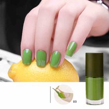 BK Brand New Green Series Water Base Peel Off Nail Polish Fragrance aint Lacquer Professional Nail Art Enamel Cosmetics
