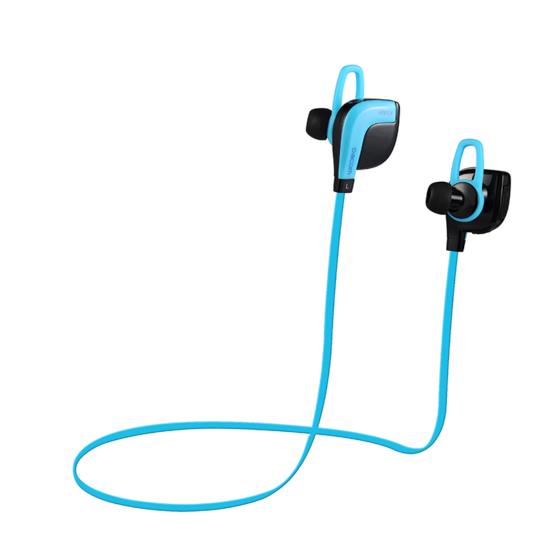 DACOM G02 Professional Sports High Quality Wireless Bluetooth Earphone V4.1 NFC Blue In-Ear Earphone Running Music with Mic<br><br>Aliexpress
