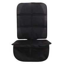 Black Universal Polyester PU Car Seat Protector Mat Auto Car Children Baby Seat Cover Protection For Car Seats