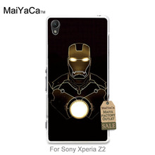 New Arrival Hot Sale Fashion phone case cover Marvel hero ironman iron man Design For case   Z2