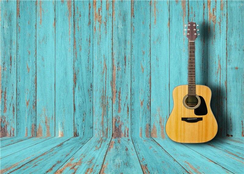 Wooden Floor Photography Backdrops Children Vinyl Photo Props for Studio Baby Background Guitars 7x5FT Jieqx096<br><br>Aliexpress