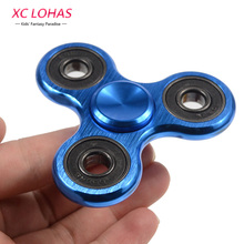 5 Colors Metal Triangular Hand Spinner  Anti-Stress Puzzle Professional Fidget Spinner  Funny Children Finger Toys