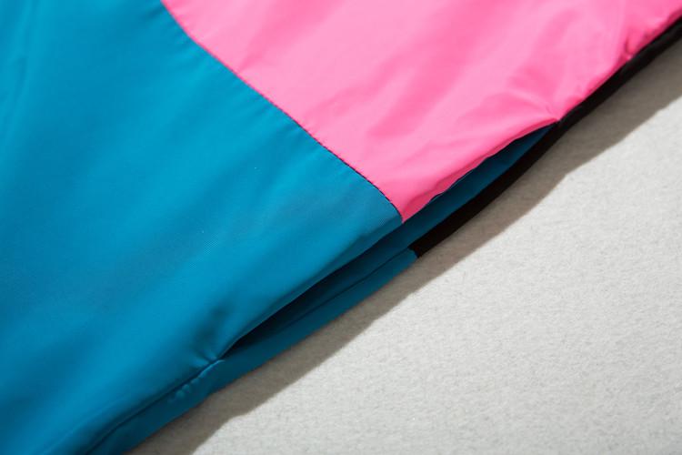 Vintage Color Block Zip Up Track Jacket 8
