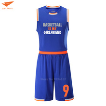 College basketball jerseys blank cheaper throwback basketball jerseys mens custom basketball kits breathable uniform adult sets