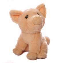 18CM High Quality Cute Pink Pig Stuffed Animal Toys Simulation Pig Plush Dolls Soft Toys Christmas Gifts(China)