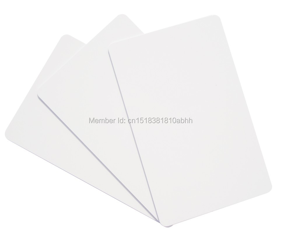 High Quality Factory Make 20pcs Only Read CR80 85.5*54*0.9mm TK4100 White PVC 125KHZ RFID Card for Access Control<br><br>Aliexpress