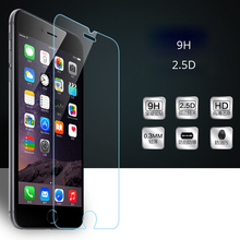 Buy iPhone 4 4s 5 5S SE 5C 6 6s 6 Plus 7 Plus Tempered Glass Screen Protector 9H 2.5 D Ultra Thin Toughened Protective Film for $1.40 in AliExpress store
