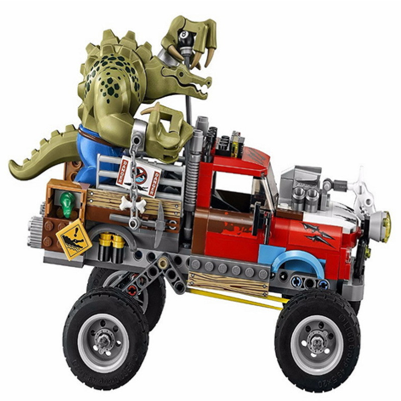 New Supers Heroes Batmans Movie Series Killer Croc Tail-Gator Man-Bat Building Blocks Compatible With LegoINGly Toy Set Figures<br>