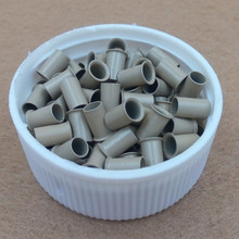 1000pcs  3.4*3.0*6.0mm 3.5mm Euro Lock  Micro copper tubes Rings links beads hair extension tools