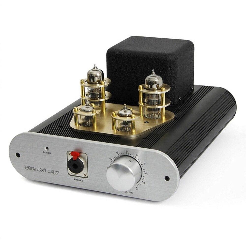 Little Dot MK4 SE MK IV SE Tube Pre-Amplifier High-performance Vacuum CV4010 /6H30PI Headphone Amplifier Power AMP
