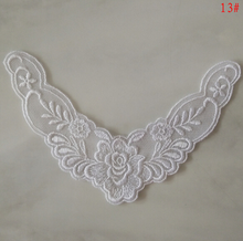 Collar lace Gauze embroidery flower stick led flower  lace collar is a neck baby clothing accessories