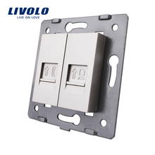 Manufacture Livolo,Wall Socket Accessory, The Base of  Telephone and Computer Socket / Outlet  VL-C7-1TC-15