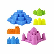 6Pcs Kids Beach Sand Toy Tool Set Models Pretend Play Toys Summer Outdoor Beach Castle Water Tools Toys Sand Game A889 wholesale(China)