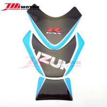Motorcycle 3D Real Carbon Fiber Emblem Fuel Tank Pad Protective Decal Sticker For Suzuki GSXR GSX-600R GSXR700 GSXR1000 All(China)