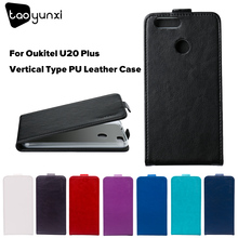 Buy TAOYUNXI Flip Phone Case Cover Oukitel U20 Plus 5.5 inch Wallet Case Card Holder Bag Leather Hood Shield Skin Cover Housing for $3.38 in AliExpress store
