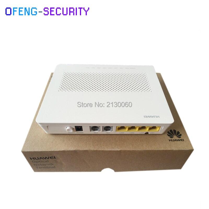 Huawai EchoLife HG8240H GPON ONT ONU, with 4GE+2POTS+1BBU, SIP, English firmware 33